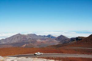 Haleakala Crater Maui Volcanoes