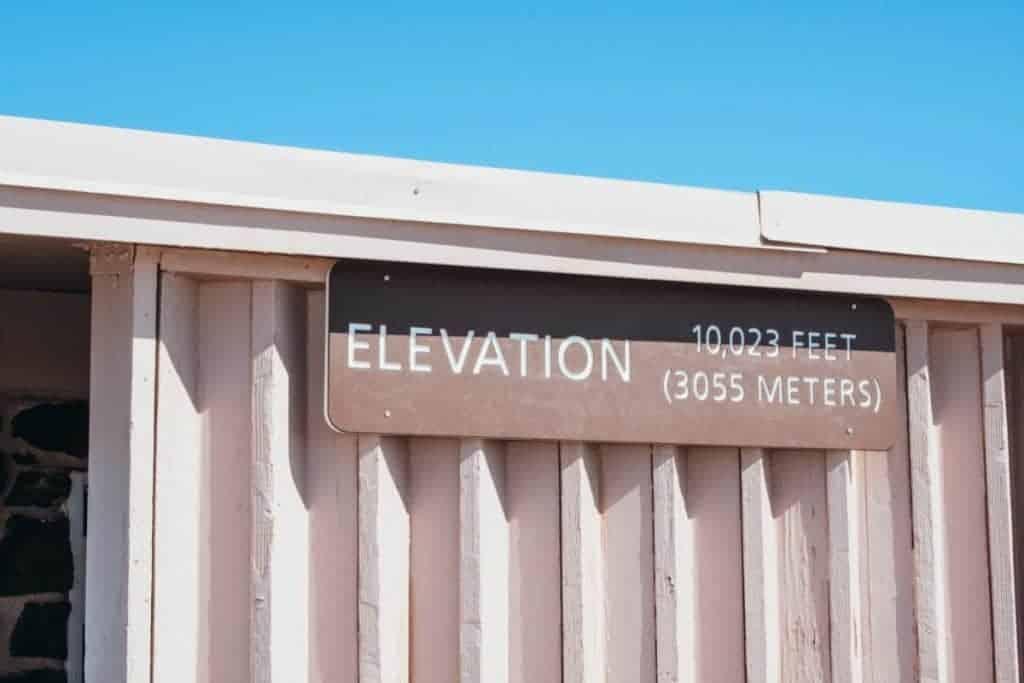 Haleakala Summit Elevation