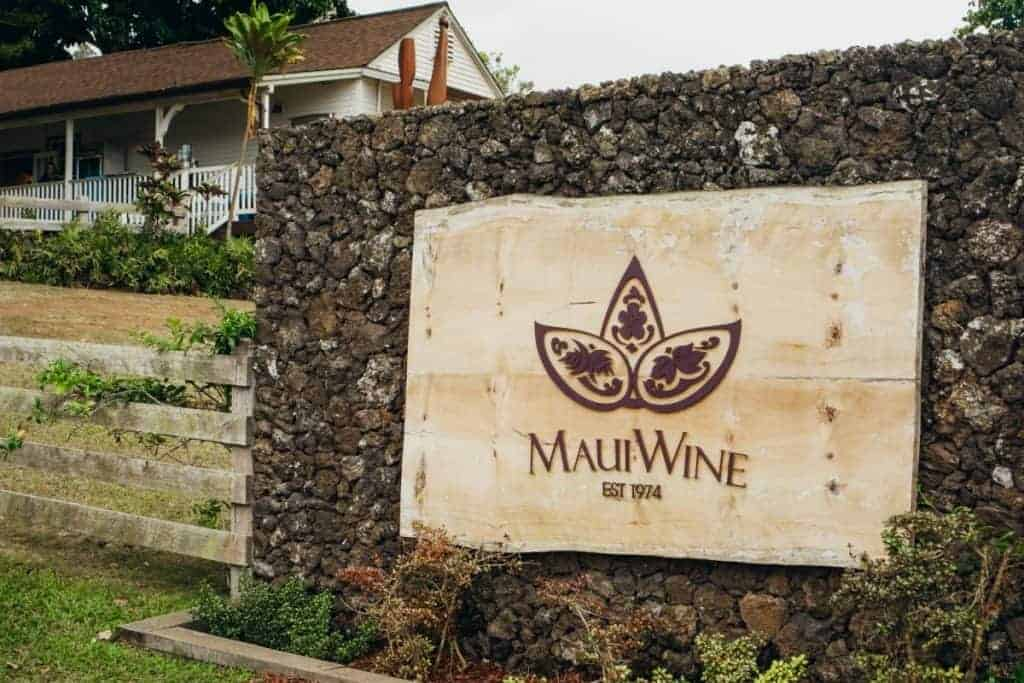 MauiWine is a Maui Winery