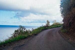 Maui most dangerous road Kahekili Highway