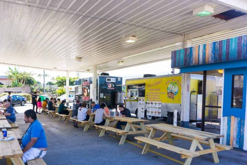 Dairy Road Food Truck Park maui