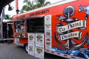 Dan Nani Pirate Food Truck Kihei Maui