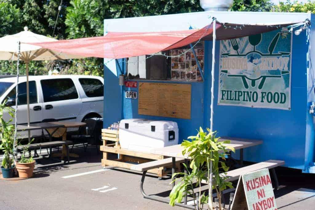 Filipino Food Truck Lahaina Maui