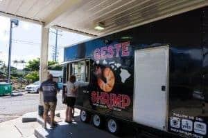 Geste Shrimp Truck Maui