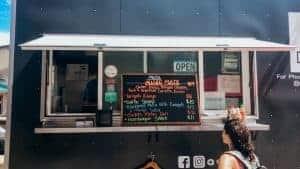 Hawaiian food truck in Lahaina Maui