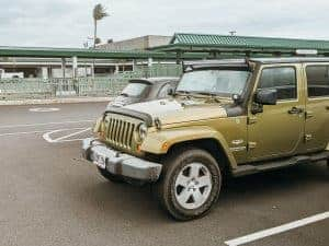 Jeep Wrangler Rental at Kahului Maui Airport