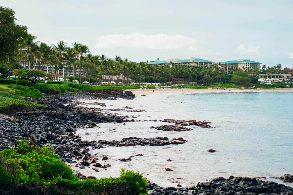 Kaanapali or Wailea? This Wailea beach on Maui is ideal.