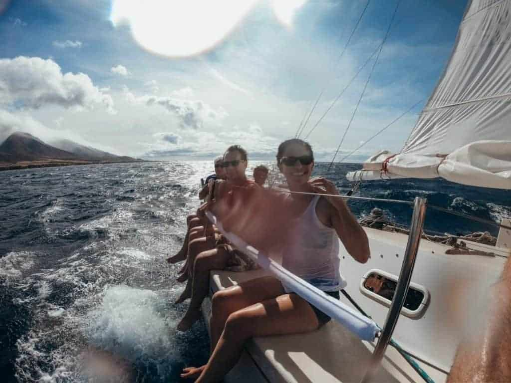 Maui Adventure Tour GungHo Sailing