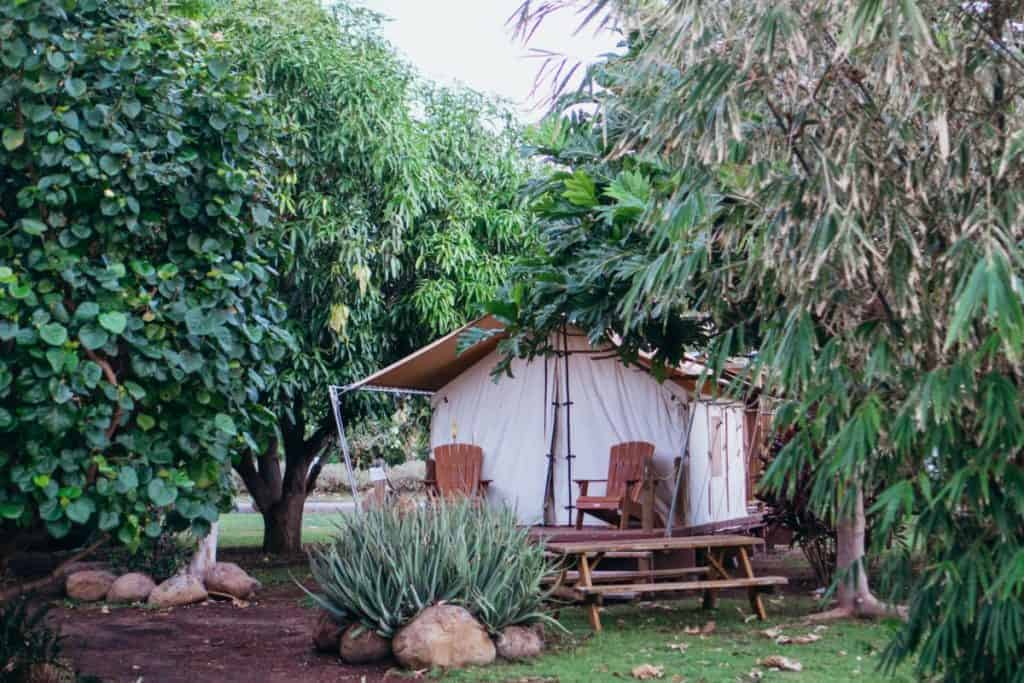 Maui Glamping Place to Stay