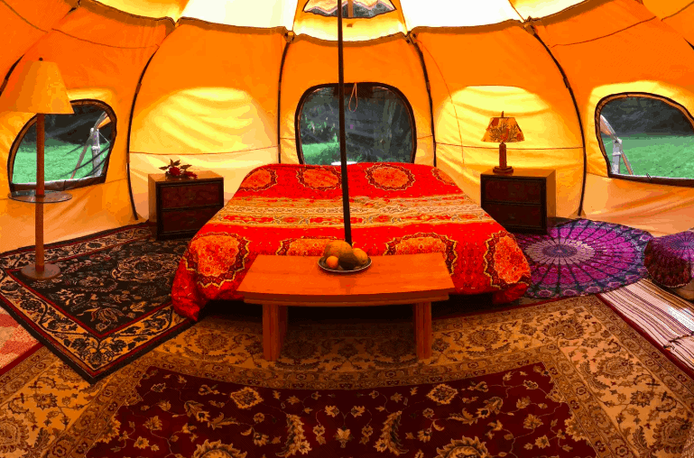 Maui Yurt in Hana