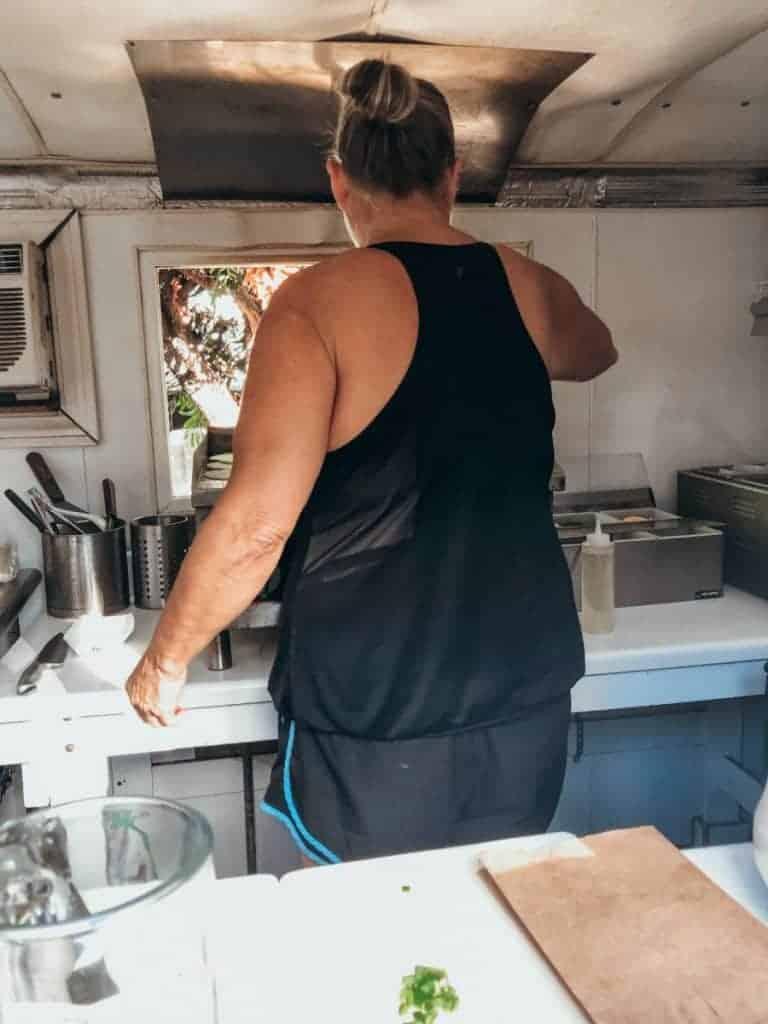 Maui food truck chef