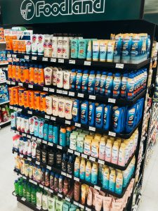Maui suntan lotion price at grocery store