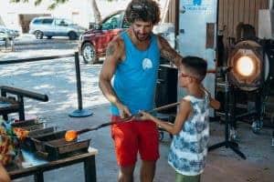 Moana Glass Blowing Lessons Kids