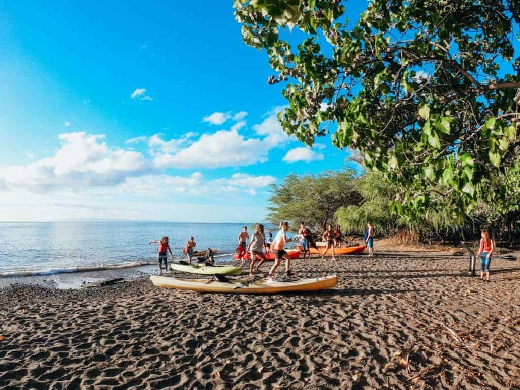 Olowalu Kayak Snorkeling