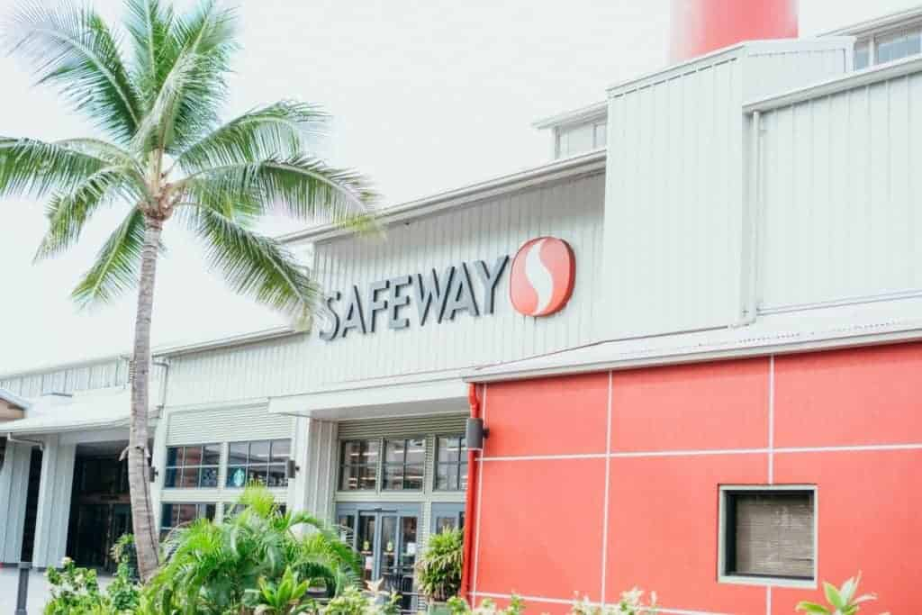 Second Cheapest Groceries Maui Safeway