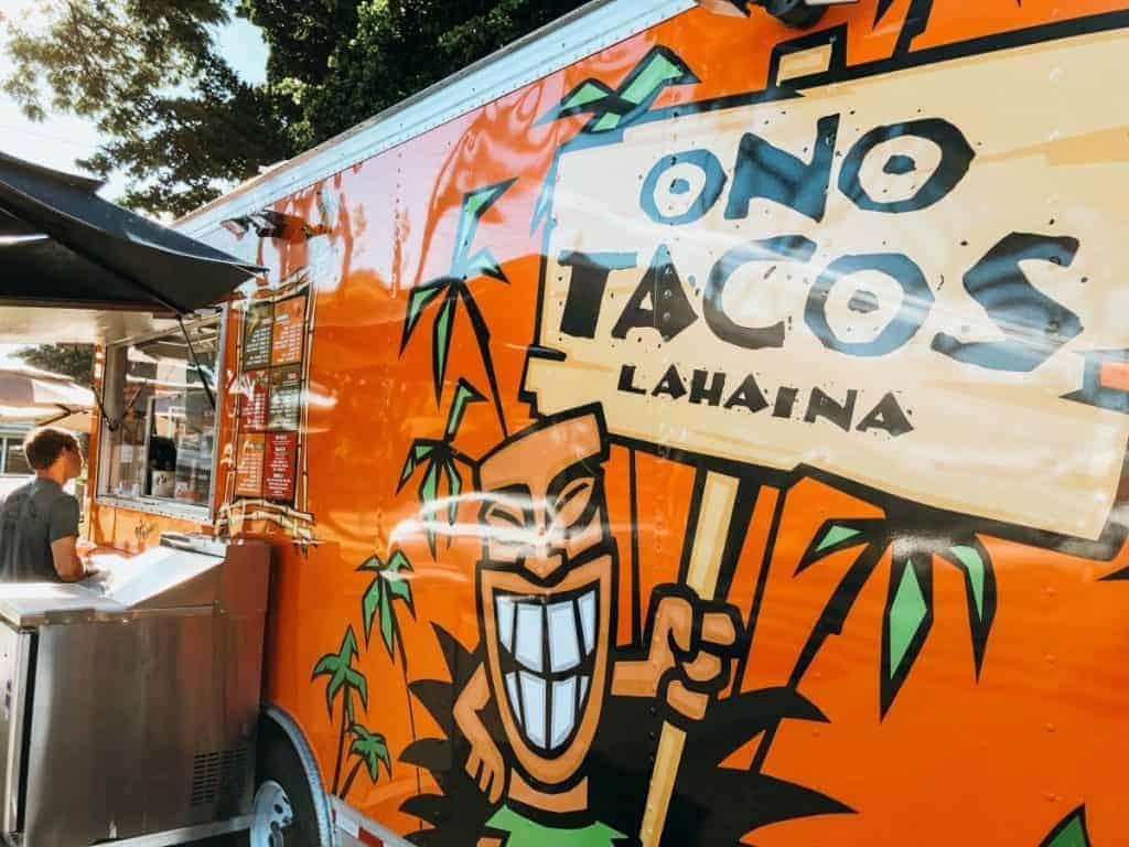 Taco Truck Lahaina Maui