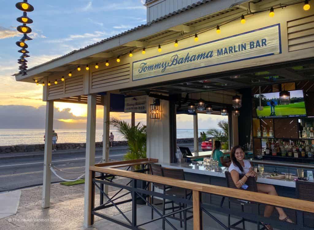 best lahaina happy hour marlin bar sunset