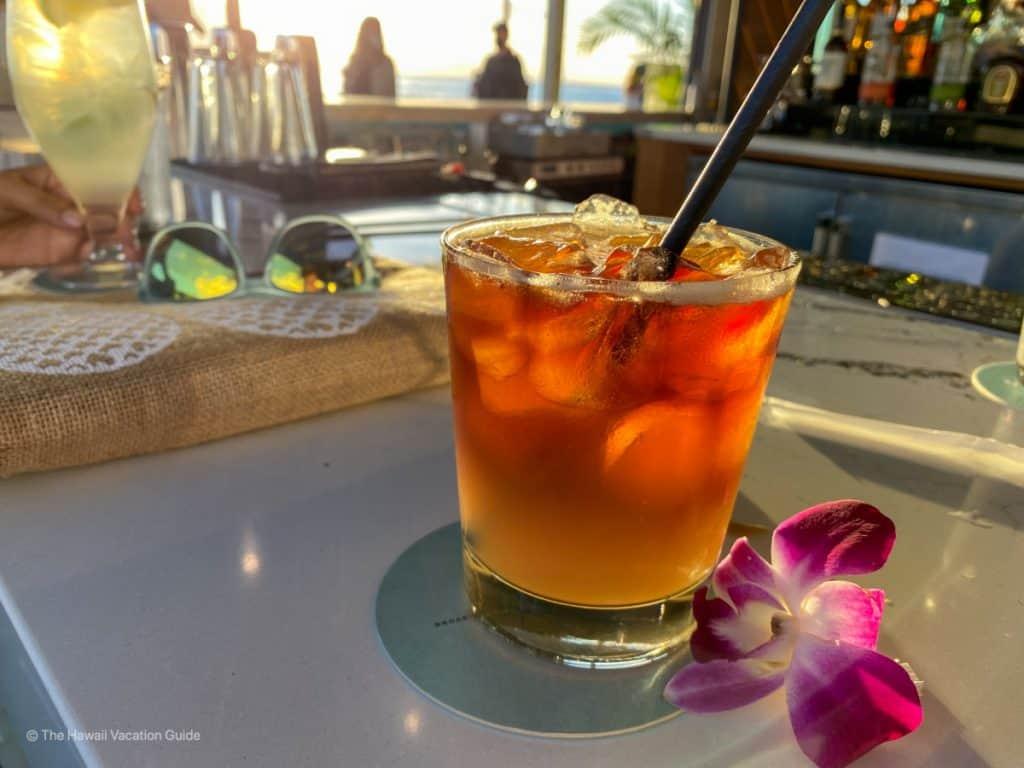 lahaina maui happy hour cocktail special Marlin Bar