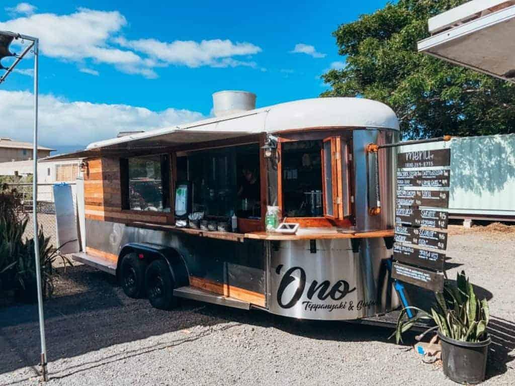 tappenyaki food truck near Costco