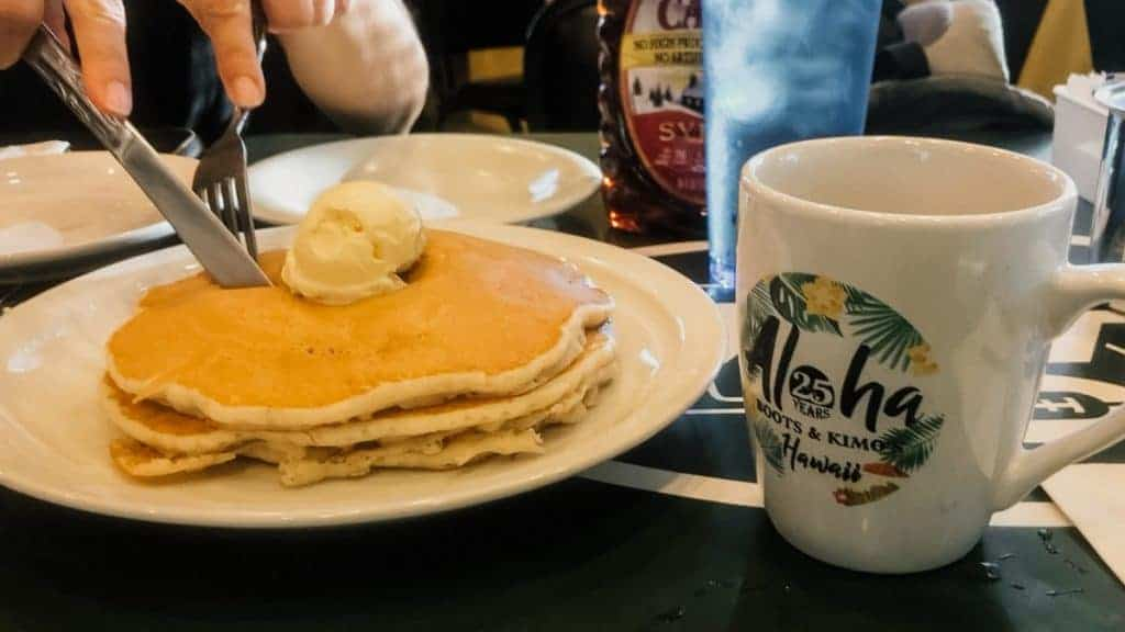 Boots and Kimos Oahu Itinerary Pancakes