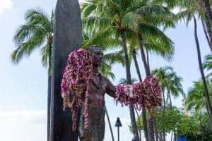 Day 3 Itinerary Duke Statue Waikiki