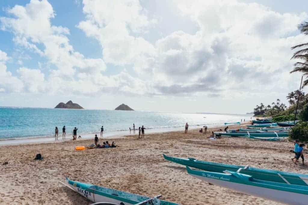 Day 3 Oahu Itinerary Lanikai beach