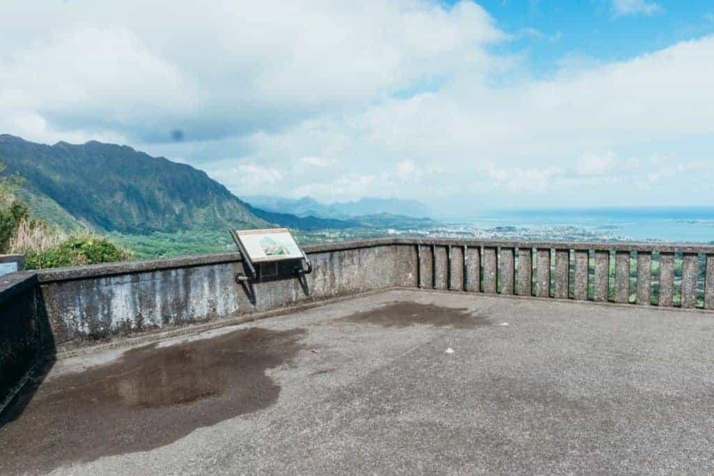 Day 3 Pali Lookout Oahu