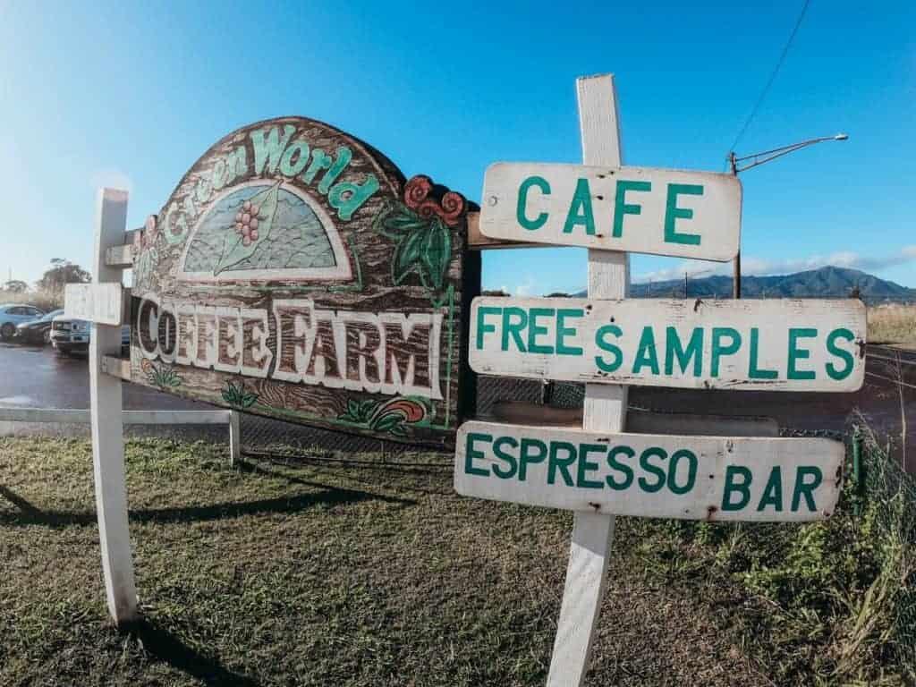 Day 4 Oahu Coffee Farm Tour