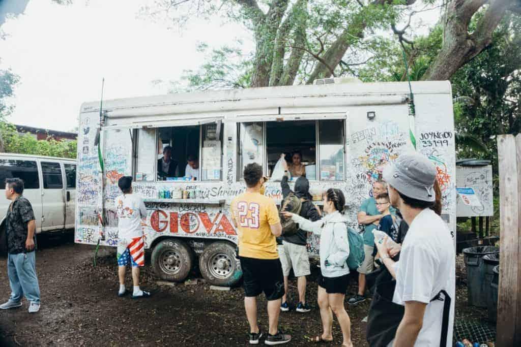 Day 5 Oahu Food Shrimp Truck