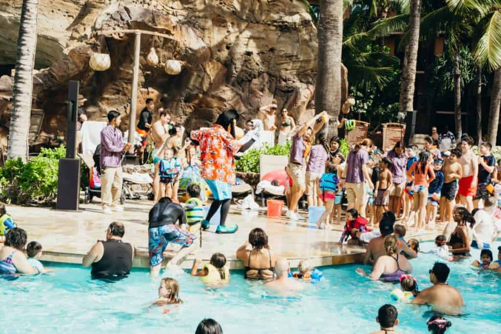 Disney Aulani Kids Pool Family Resort Oahu