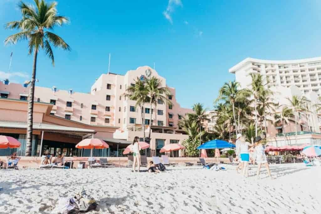 Family Hotel Oahu Royal Hawaiian Beach