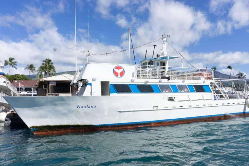 Hawaii Ocean Project Whale Watching Ship Maui