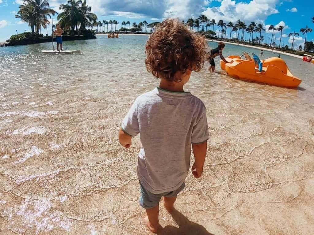 Hilton Hawaiian Village Lagoon for Kids