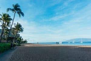 Kaanapali Beach Hotel big beach for kids