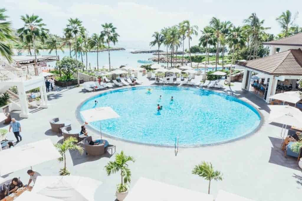 Ko Olina Four Seasons Pool Oahu
