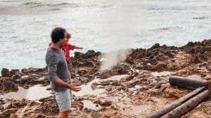 Turtle Bay Oahu Family Resort Blow Hole