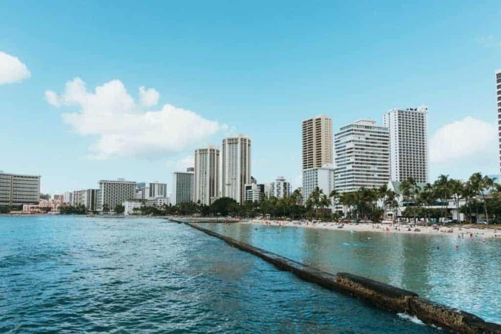 Waikiki Beach Seawall