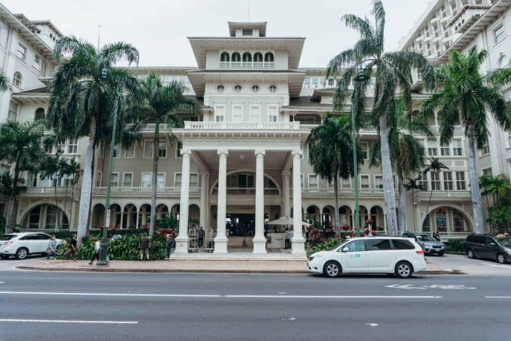 Waikiki Moana Hotel is Famous