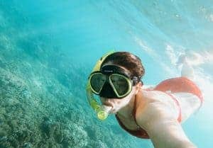 Big Island snorkeling water visibility