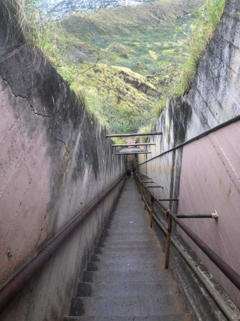 Diamond Head Stairs Oahu Best Hikes