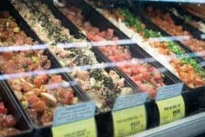 Hawaii Grocery List Poke