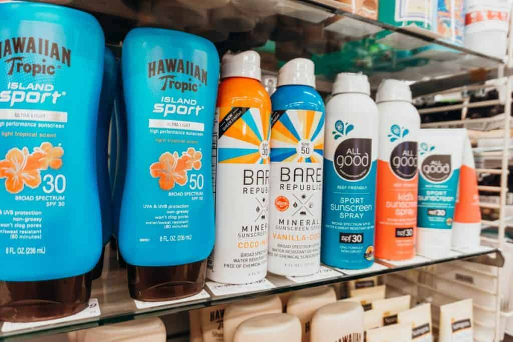 Hawaii approved reef-safe sunscreens for sale