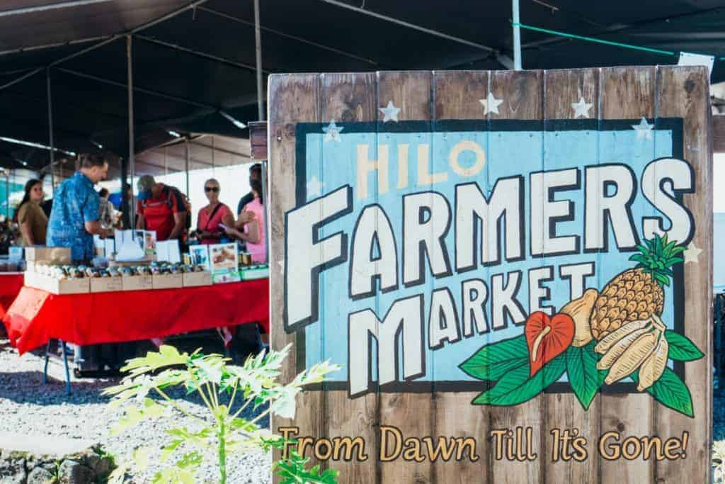 Hilo Farmers Market Things to Do Itinerary