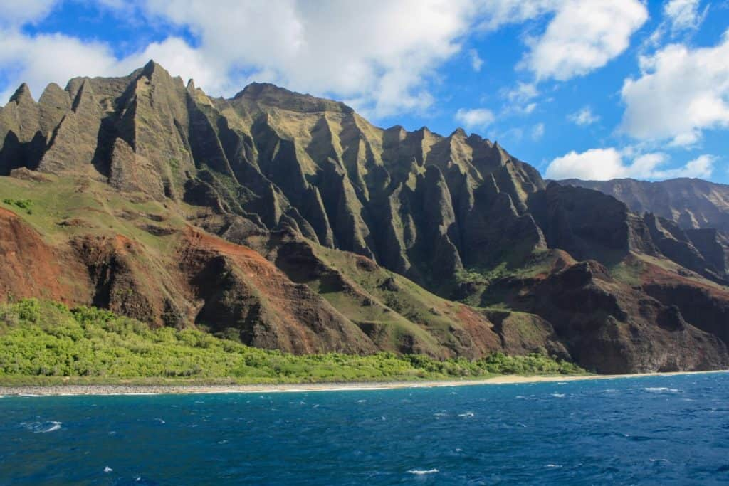 Kauai itinerary Hawaii Na Pali Coast
