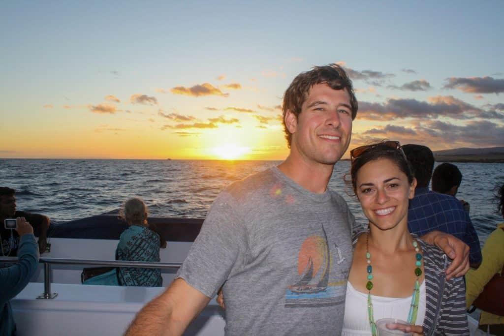 Kauai sunset on itinerary