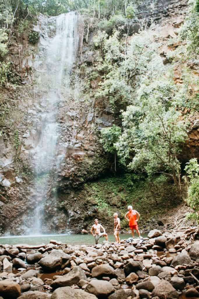 Kauai waterfall hikes