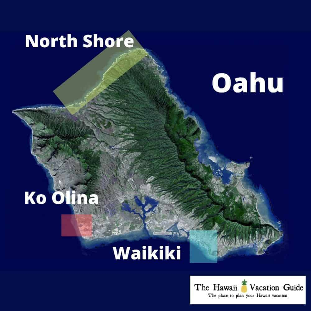 Ko Olina Guide Oahu Hawaii Map