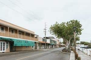 Lahaina Maui closed for coronavirus