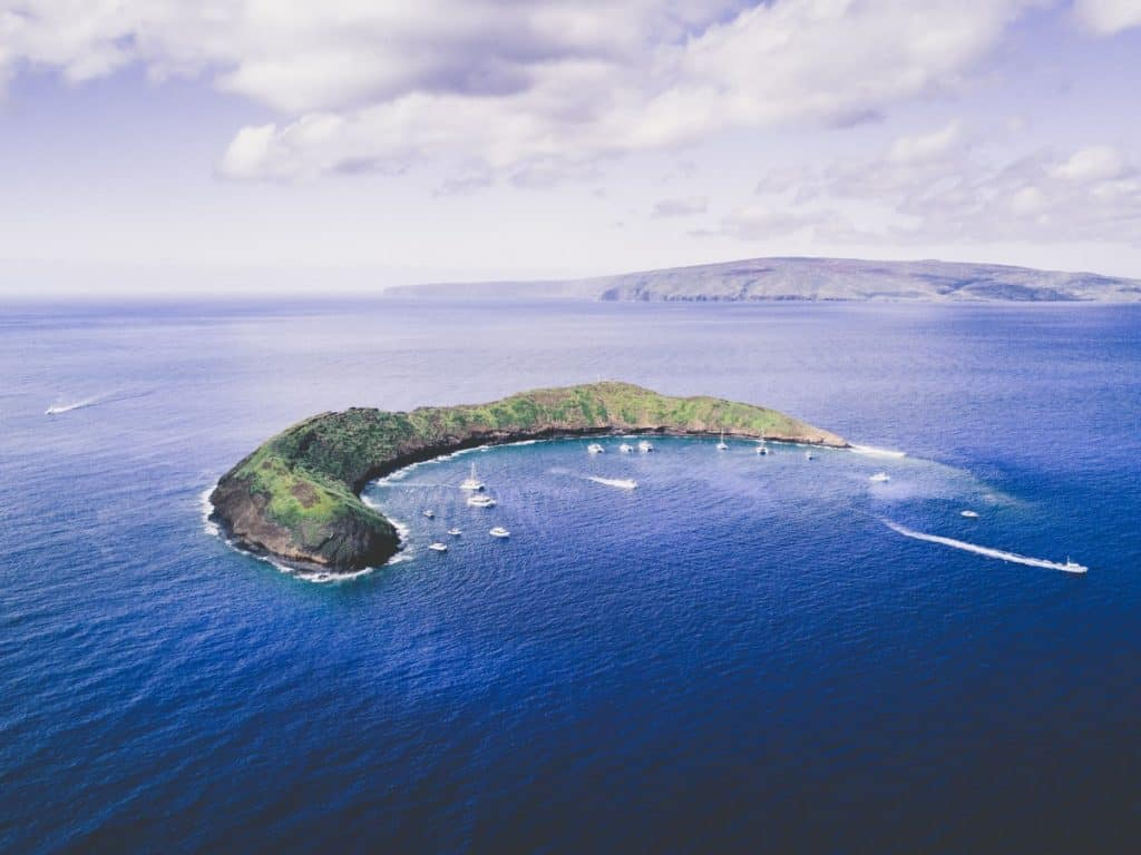 Molokini Crater Maui for Snorkeling vs Lanai