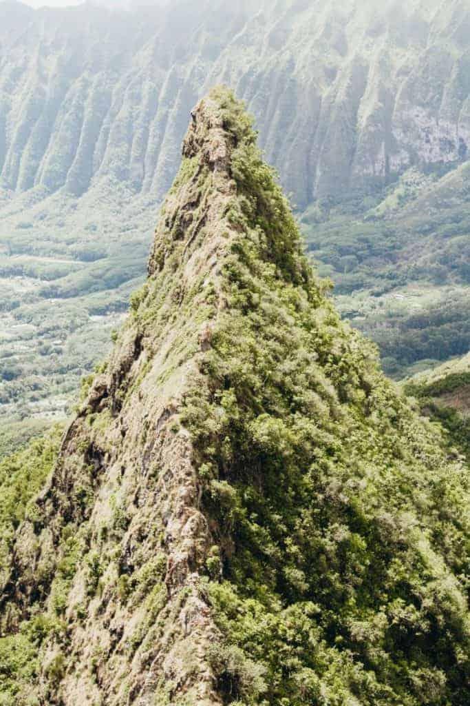 Olomana Hike Oahu 3rd peak